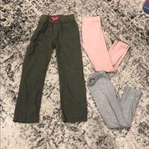 Size 5T pants and leggings lot